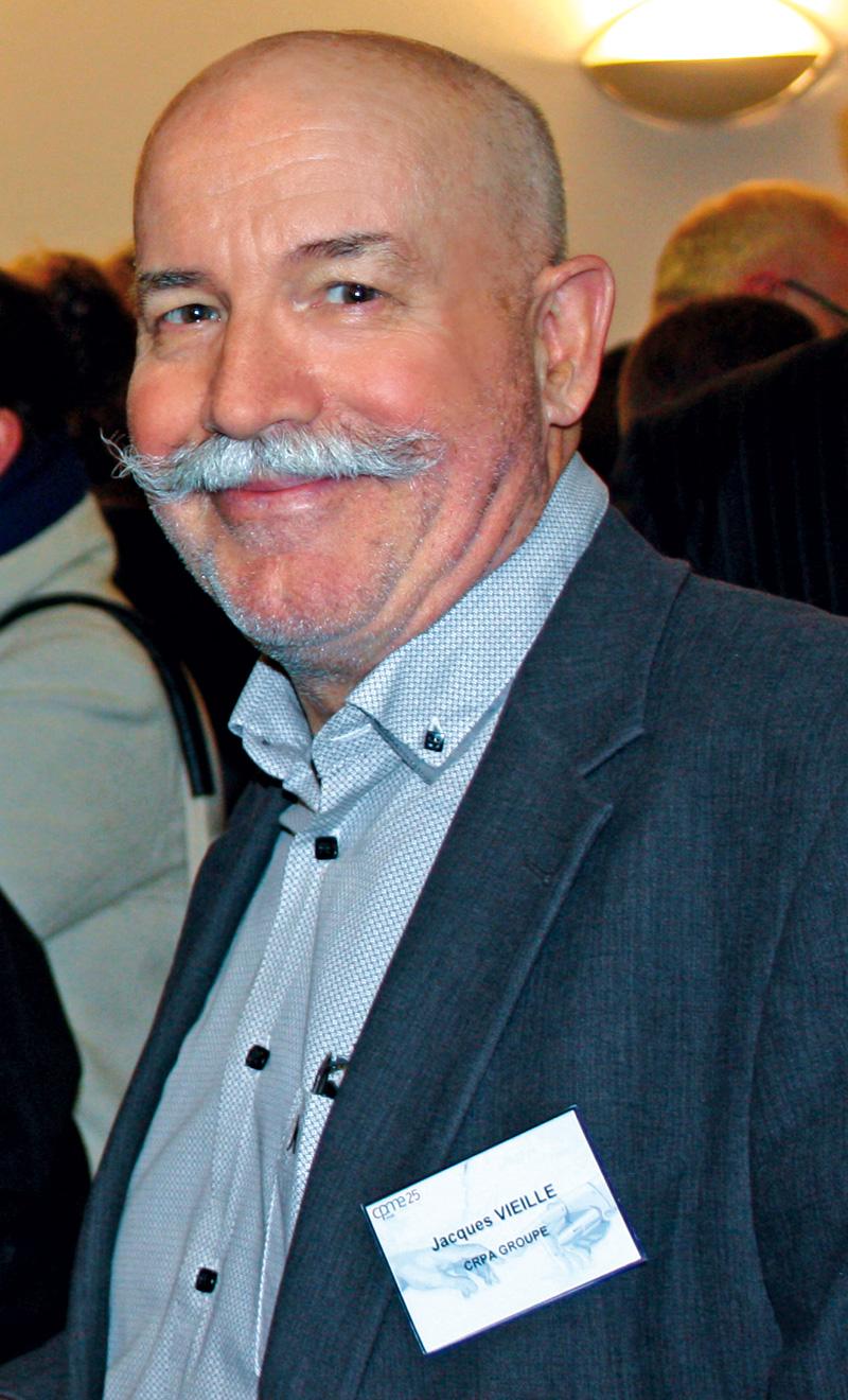 Jacques Vieille, président de la CPME 25, lors de la conférence sur l'intelligence artificielle