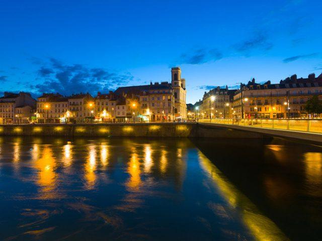La ville de Besançon éteint ses éclairages