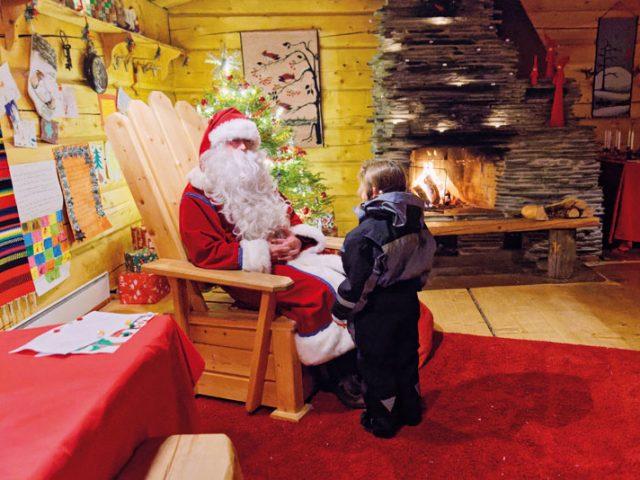 Reportage photo : à la rencontre du Père Noël en Laponie