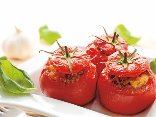 Recette : Tomates farcies express