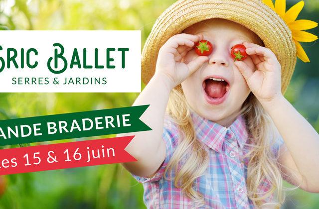 Grande Braderie ce week-end chez Eric Ballet serres & jardins