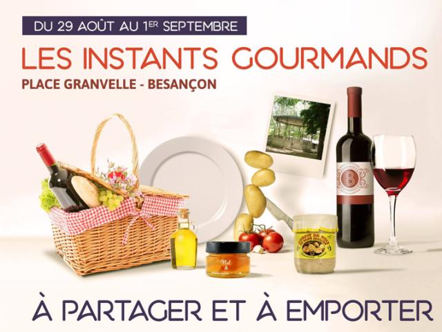 La nouvelle édition des Instants Gourmands est lancée !