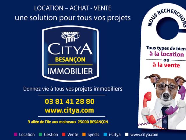 Faites gérer votre bien immobilier par Citya Besançon
