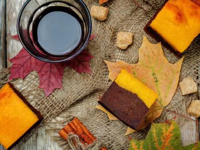 Recette d'Halloween : brownie chocolat / potiron