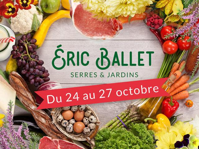 Grande foire de producteurs locaux aux serres Eric Ballet